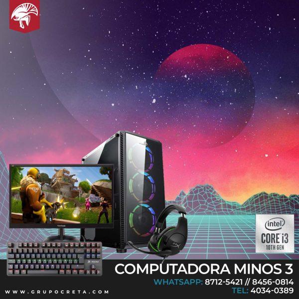 Computadora Minos i3 Basic