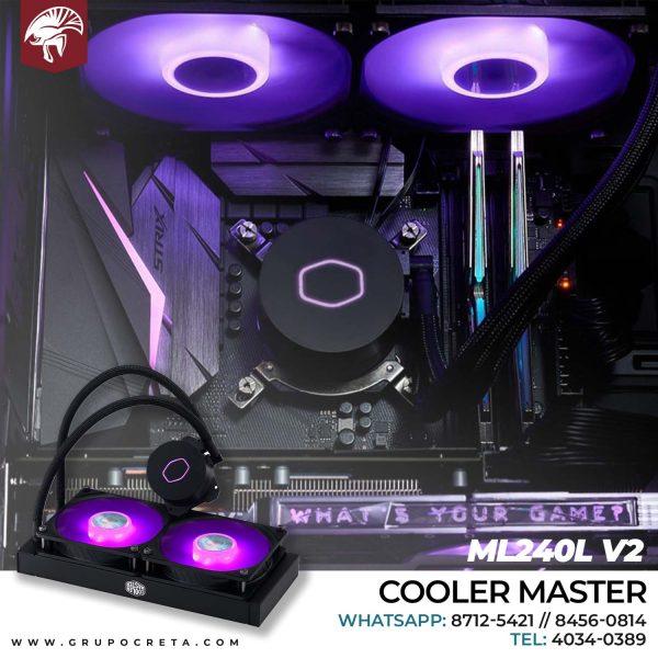 Cooler master ML240LV2 Creta Gaming