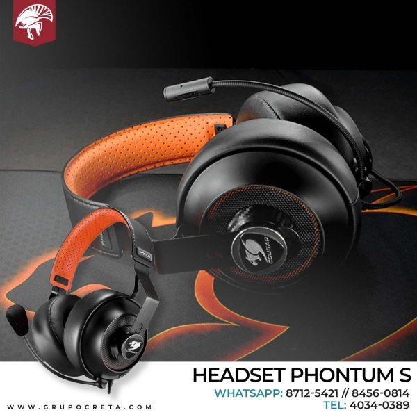 Headset Cougar Phontum Creta Gaming