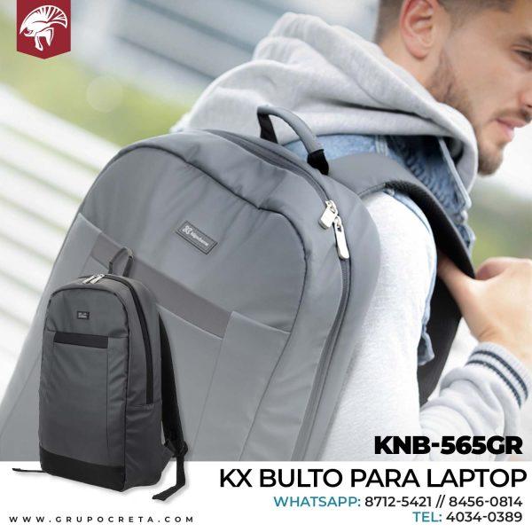 KX bulto para laptop KNB-565GR Creta Gaming