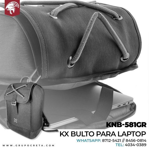 KX bulto para laptop KNB-581GR Creta Gaming