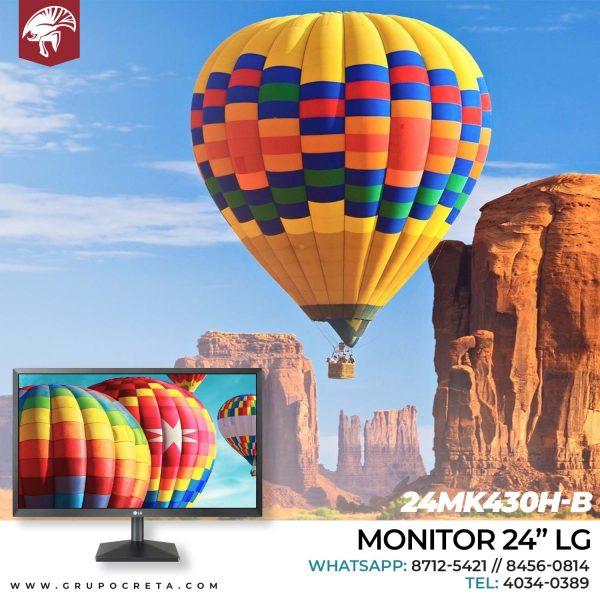 MONITOR 24 LG 24MK430H-B IPS 1920X1080 75HZ Creta Gaming