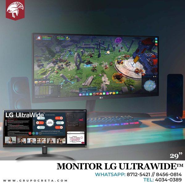 "Monitor LG Ultra Wide 29WP500-B de 29"" Creta Gaming"