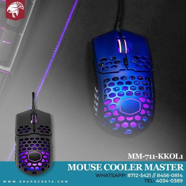 Mouse cooler master mm711 kkol1 Creta Gaming