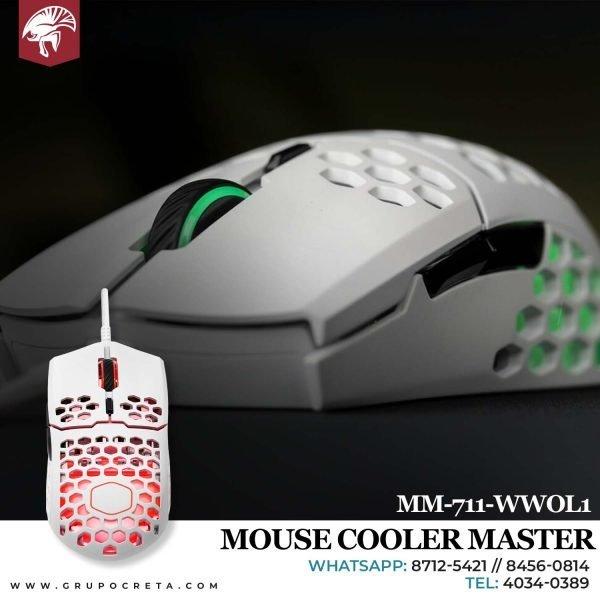 Mouse cooler master mm711 wwol1 Creta Gaming