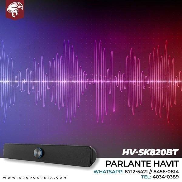 Parlante havit hv-sk820bt Creta Gaming
