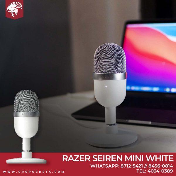Razer Seiren Mini White-Creta Gaming