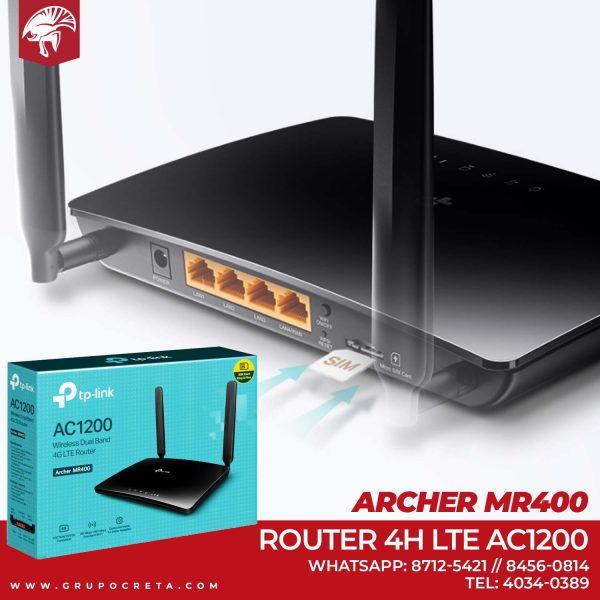 Tp-link 4g lte router ac1200 Creta Gaming
