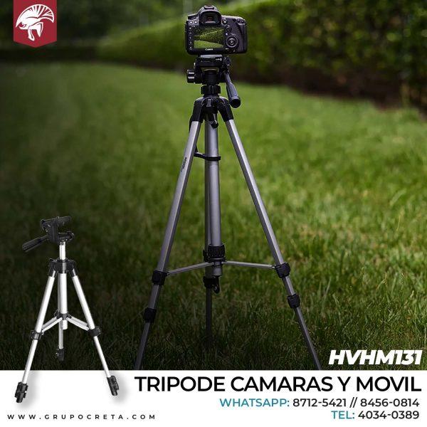 Tripode Camaras y Movil HVHM131 Creta Gaming