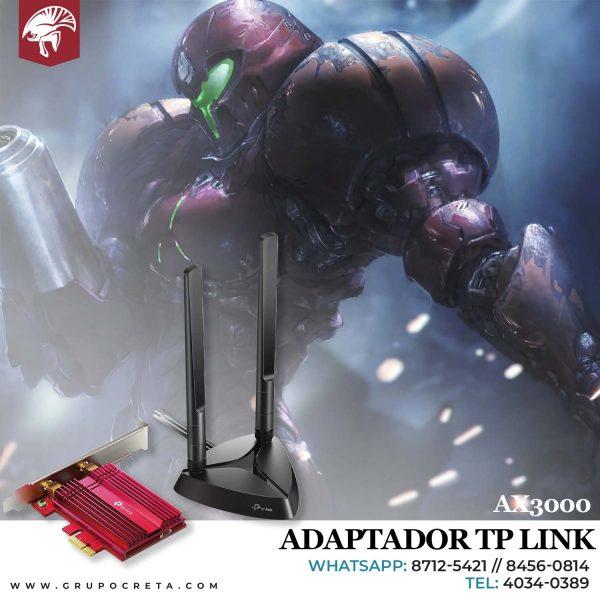 adaptador tp-link ax3000 Creta Gaming