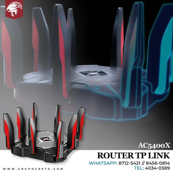 Router TP link MU-MIMO TRI-BAND AC5400X Creta Gaming