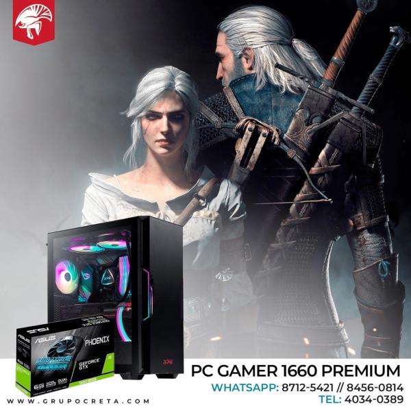 Computadora PC Gamer 1660 Premium Creta Gaming