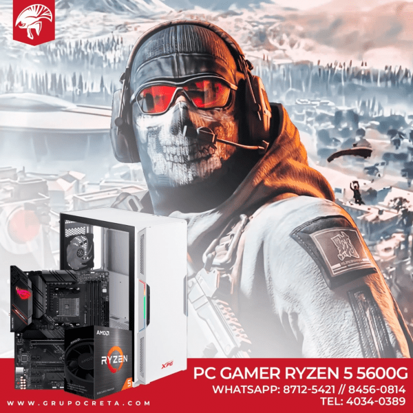 PC GAMER RYZEN 5 5600G Creta Gaming