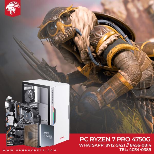 PC GAMER RYZEN 7 4750G Creta Gaming