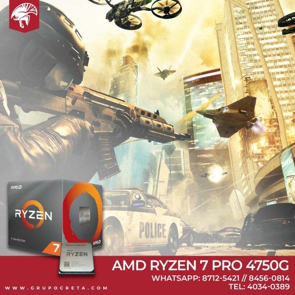 AMD Ryzen 7 pro 4750G Creta Gaming b
