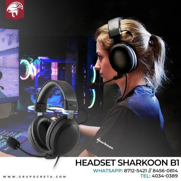 HEADSET SHARKOON B1 Creta Gaming
