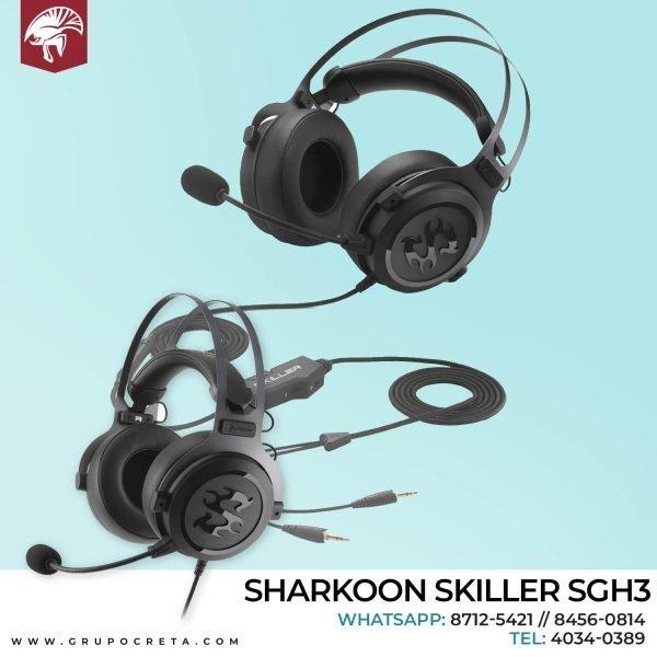 Headseet Ssharkoon skiller SGH3 Creta Gaming