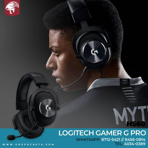 Headset Logitech Gamer Pro Creta Gaming
