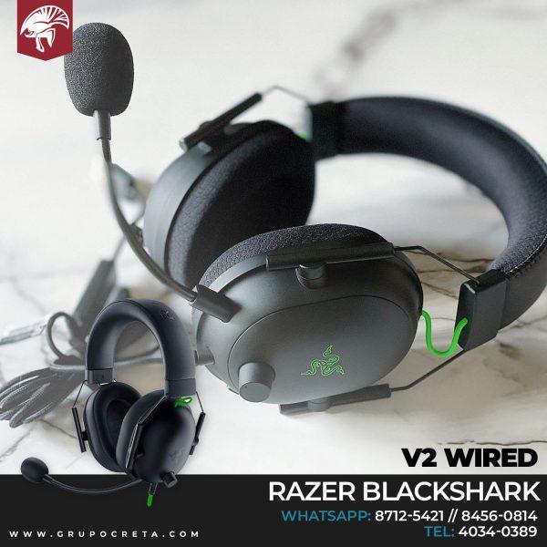 Headset Razer Blackshark v2 wired Creta Gaming