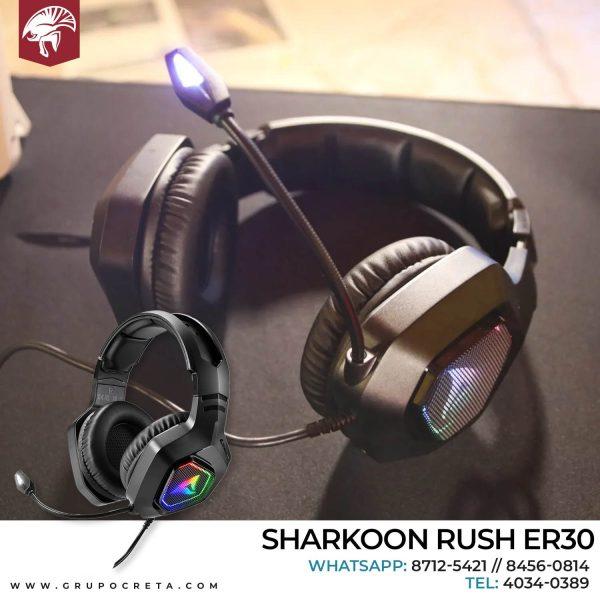 Headset Sharkoon Rush Er30 Creta Gaming