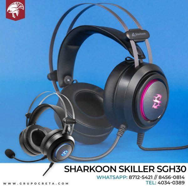 Headset Sharkoon skiller SGH30 Creta Gaming