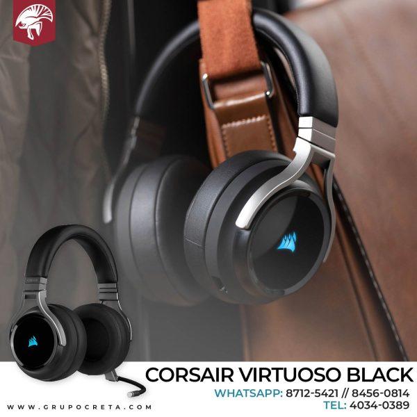 Headset corsair virtuoso negro inalambrico Creta Gaming