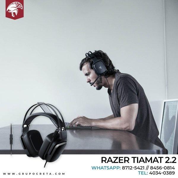 Headset razer tiamat 2.2 Creta Gaming