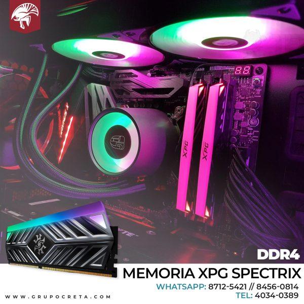 Memoria ram XPG Spectrix D41 8GB 3200Mhz Creta Gaming