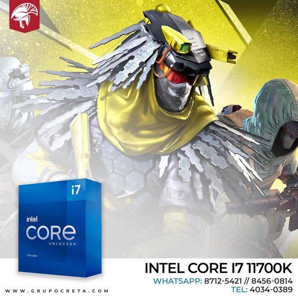 Procesador Intel i7 11700K Creta Gaming