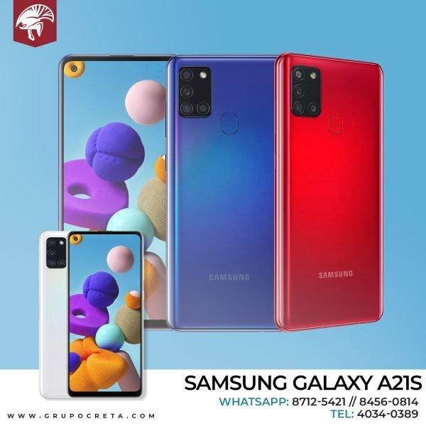 Samsung A21s. blanco Creta Gaming