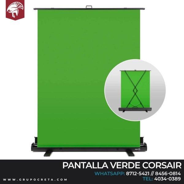 Pantalla verde elgato diseño plegable Creta Gaming