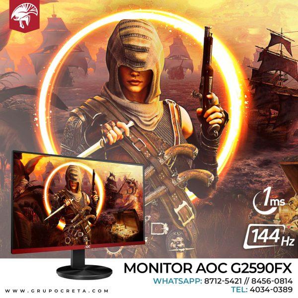 monitor gaming aoc g2590fx Creta Gaming