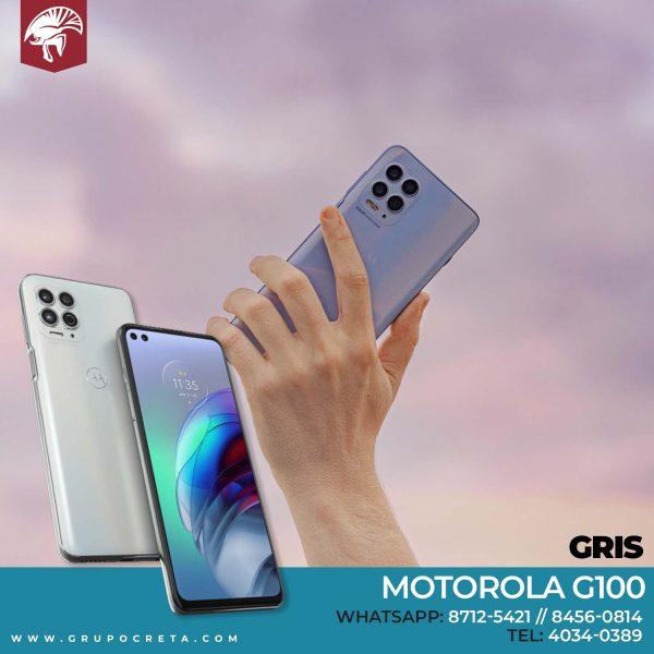 motorola G100 gris Creta Gaming