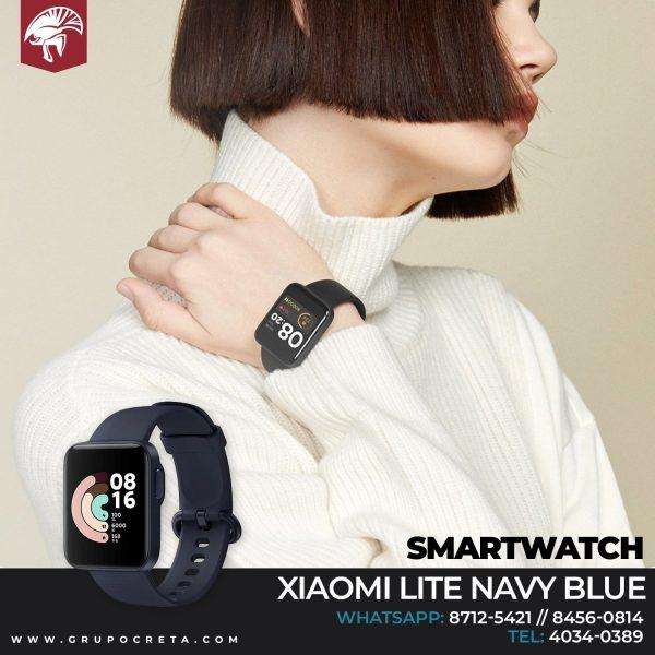 xiaomi lite navy blue Smartwatch Creta Gaming