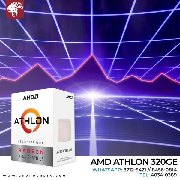 AMD athlon 320ge Creta Gaming