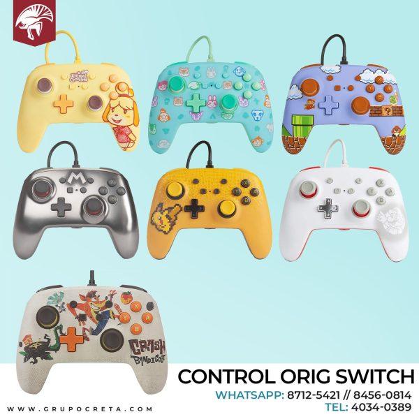 Control Orig Switch Creta Gaming