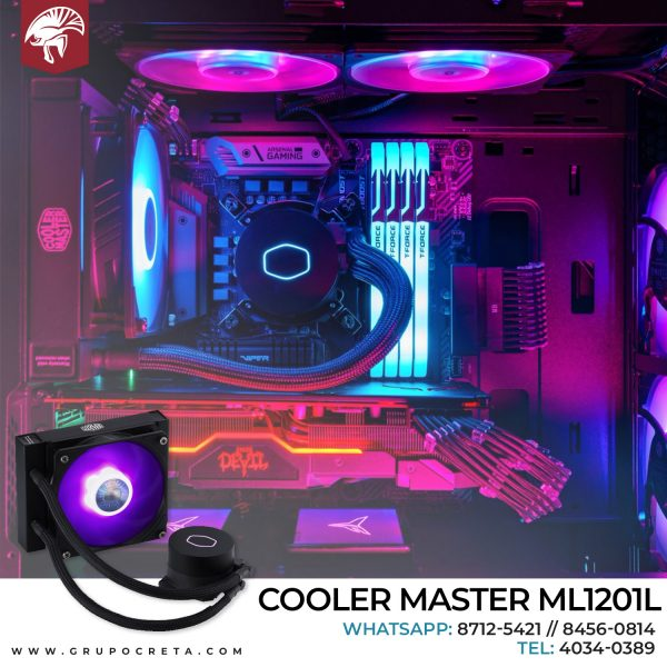 Cooler Master ML120 1L RGB V2 Creta Gaming