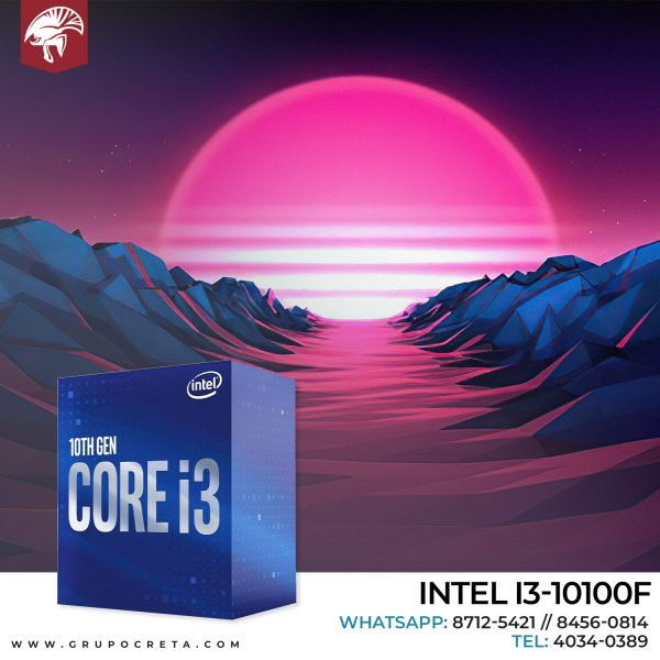 INTEL I3-10100F Creta Gaming