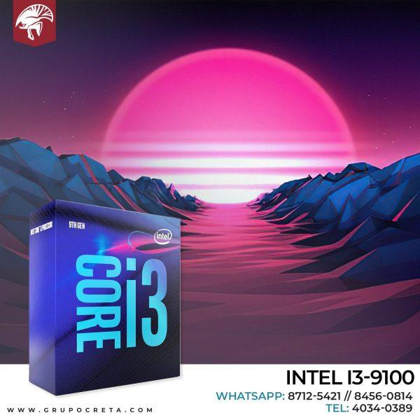 INTEL I3-9100 Creta Gaming