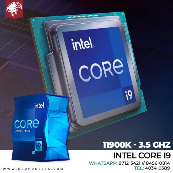 Intel Core i9 11900K - 3.5 GHz - 8 núcleos Creta Gaming