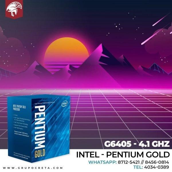 Intel Pentium Gold G6405 - 4.1 GHz - 2 núcleos Creta Gaming