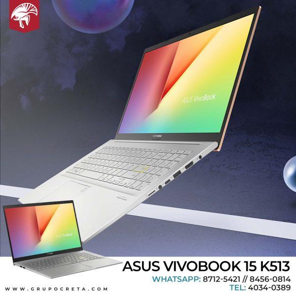 Laptop Asus Vivobook 15 k513 i7 1165G7 Creta Gaming