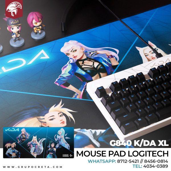 MOUSE PAD LOGITECH G840 KDA XL GAMING 943-000456 Creta Gaming