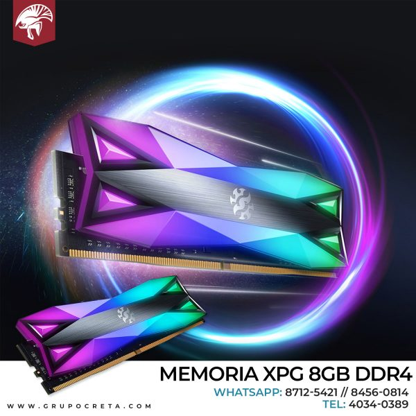 Memoria XPG 8gb DDR4 Creta Gaming