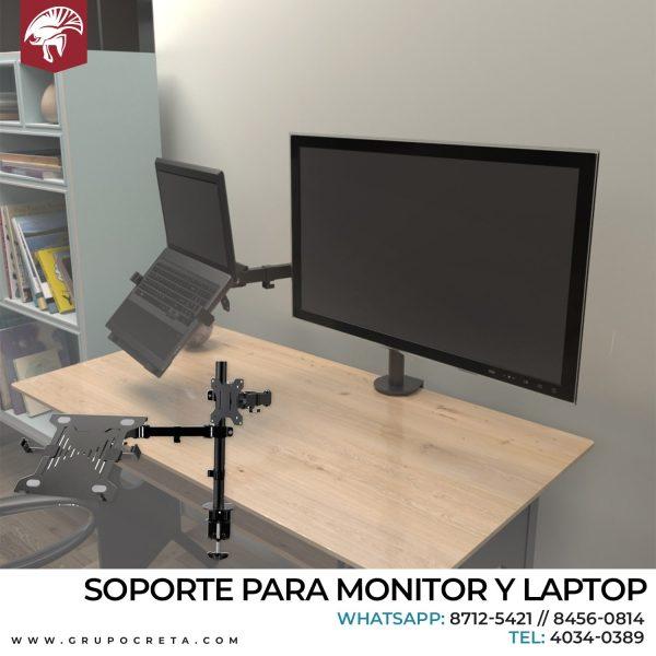 Soporte para monitor y laptop Creta Gaming