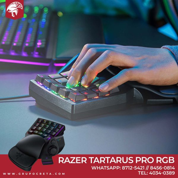 Teclado Razer Tartarus Pro RGB Creta Gaming