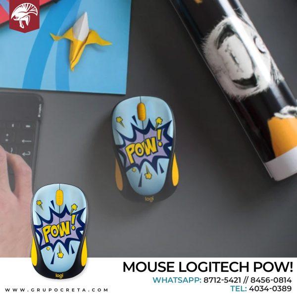 mouse logitech design collection pow Creta Gaming