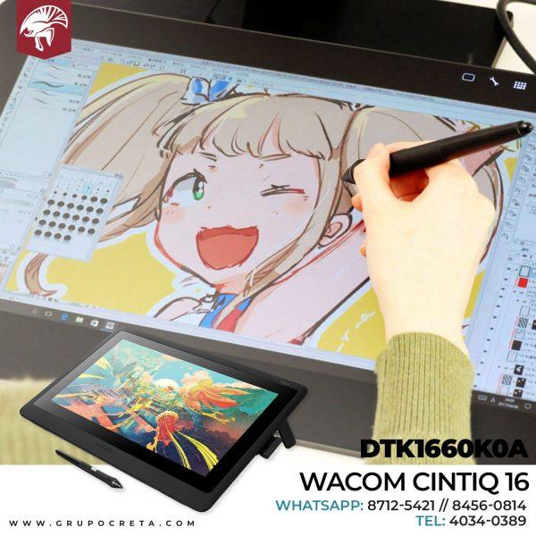 wacom cintiq 16 dtk1660k0a Creta Gaming