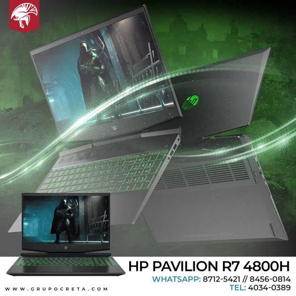 Laptop HP Pavilion Ryzen 7 4800H Creta Gaming