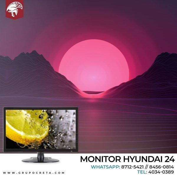 Monitor Hyundai 24 (P24DS) LED WIDE DVI-VGA Creta Gaming